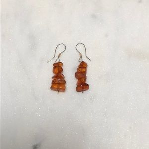 Vintage Baltic Amber Earrings